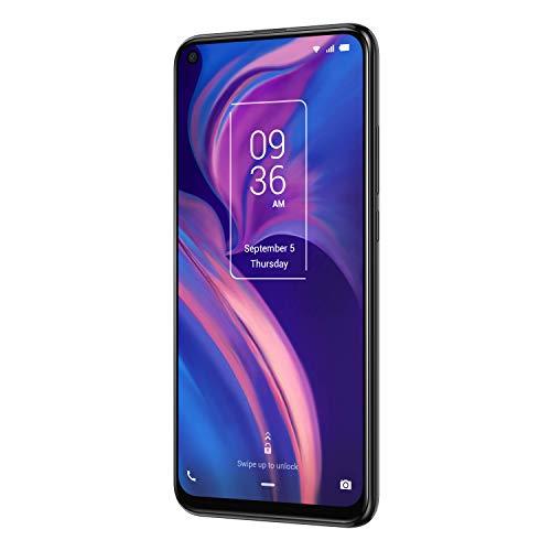 TCL Smartphone TCL PLEX 128 GB (16,59 cm (6,53 Zoll) FHD+ LCD LTPS-IPS Display, Triple-Hauptkamera, 24MP Frontkamera, 6 GB RAM, Dual-SIM, Android 9), Obsidian Black