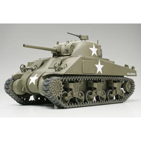 タミヤ 1/48 ミリタリーミニチュアシリーズ No.05 アメリカ陸軍 M4シャーマン戦車 初期型 プラモデル 32505