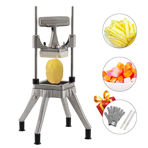 Tuntrol Commercial Vegetable Dicer Blade 0.25 inches Quick Chopper Stainless Steel Easy Chopper Dicer for Onion Tomato Pepper Potato (1/4' Blade)