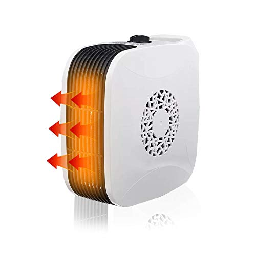 Dyna-Living Termoventilatore elettrico,Stufette Elettriche,Casa termoventilatore, Termostato Termoventilatore,Riscaldatore ad aria portatile,riscaldatore per casa e ufficio.