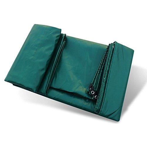 ZEMIN Bâche De Protection Couverture Transparente Imperméable Crème Solaire Drap Tissu Tente Épissure Protection Polyester, Vert, 550G / M², 10 Tailles Disponibles (Color : Green, Size : 5X6M)