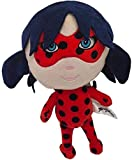 QIXIDAN Ladybug and Cat Noir Peluche de Felpa Muñeca Juguetes Niños S Regalos 28cm...