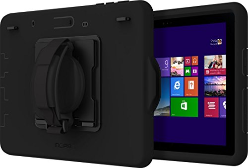 Incipio Capture Rugged Case for Microsoft Surface Go 2 / Go - Microsoft Certified Extremely Robust Case [Hand Strap; Stand Function; Surface Pen Mount] - MRSF-125-BLK