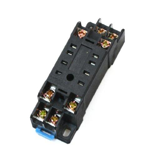 Aexit DYF08 35mm Hutschienen-Relaissockel-Sockel 8 Pins für HH52P H3Y-2 (e75817a7a87a0edf6a2ed41df48d55f4)