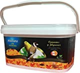 Mixtura Premium con Vitaminas DAPAC para Canarios y Jilgueros Bote 5,5 l (4 kg)