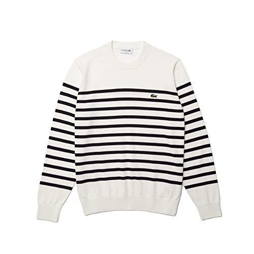 Lacoste Herren AH9005 Pullover, Farine/Abimes, XL