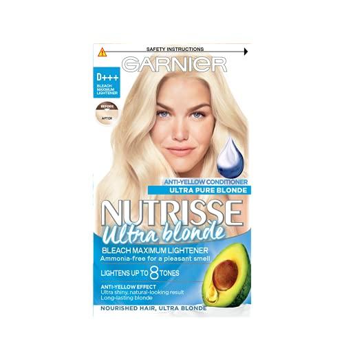 Garnier Nutrisse Ultra Blonde D+++ Bleach Maximum Lightener, For All Hair Types