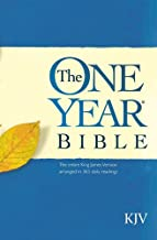 The One Year Bible: The entire King James Version arranged in 365 daily Readings