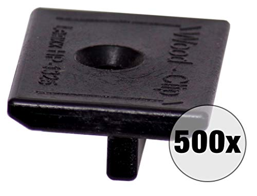 500Stück Terrassenclip Clip für die Befestigung von Holzterrassen - Befestigung von Terrassendielen