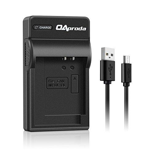 OAproda NB-13L Ultrathin USB Battery Charger for Canon NB13L Battery, PowerShot SX620 HS, SX740 HS, G7 X, G9 X, G7 X Mark II, G9X Mark II, G1 X Mark III, SX720 HS, SX730 HS, CB-2LH Charger
