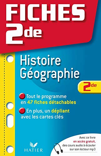 Fiches Bac Histoire Géographie 2nde