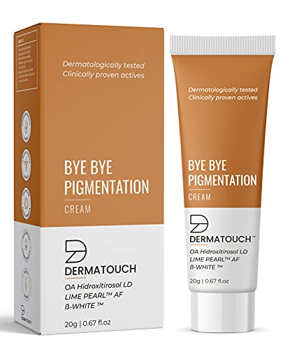 DERMATOUCH Bye Bye Pigmentation Cream for Pigmentation Removal Cream    Anti Pigmentation Cream for Women with Lime Pearl & B-White