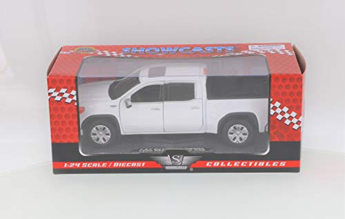 Motor Max 2019 GMC Sierra 1500 Denali Crew Cab Pickup Truck, White 79362WH - 1/27 Scale Diecast Model Toy Car