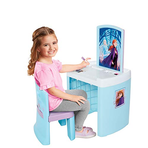 Frozen 2 Pretend N' Play Activity Table Set with One Chairs