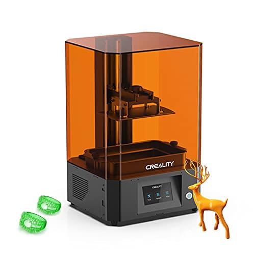 aibesy Creality LD-006 Impresora 3D de resina LCD Fotocurado UV 192x120x250mm Tamaño de impresión Matriz de pantalla monocromática 4K Fuente UV Fácil nivelación
