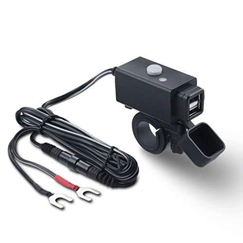iMESTOU Waterproof Motorcycle USB Phone Charger