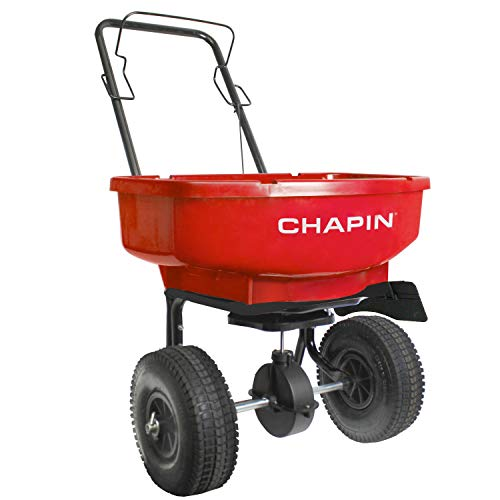 Chapin 81000Z Assembled 80Pound Capacity Broadcast Spreader