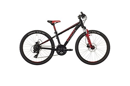 GHOST Powerkid 24 Disc black/red/gray - Kindermountainbike Modell 2016 by GHOST Bikes