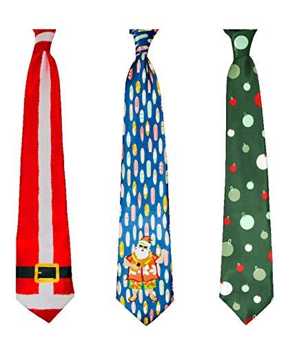 Coqui Baby Deluxe Weihnachts-Krawatte mit Musik - mehrfarbig - Mittel