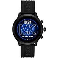 Michael Kors Access MKGO Smartwatch 43mm Aluminum With Black Band