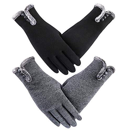 Longyangqk Touchscreen handschoenen dames winterhandschoenen fiets vrouwen handschoenen winter warme handschoenen met fleece voering