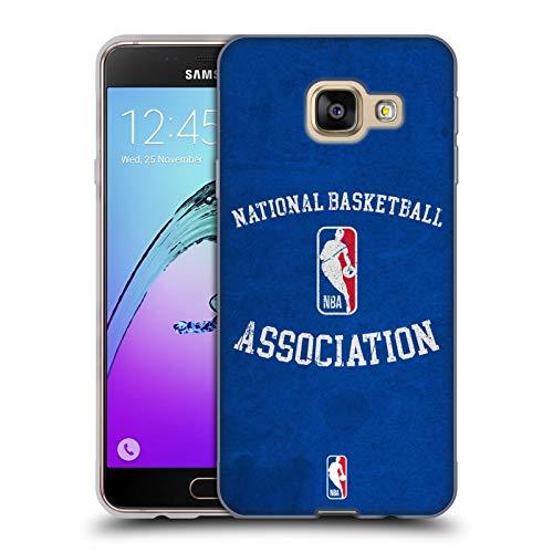 Head Case Designs Ufficiale NBA Aspetto Sdrucito 2019/20 Logoman Cover in Morbido Gel Compatibile con Samsung Galaxy A3 (2016)