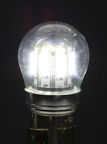 PilotLights LED RA-7512 W-1280 RA-7512-12, BAY15S Base, 10 to 30V LED Replacement Bulb
