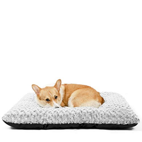 HACHIKITTY Dog Bed Large Size Dogs, Dog Bed Crate Pad Medium, Dog Crate Bed Extra Large