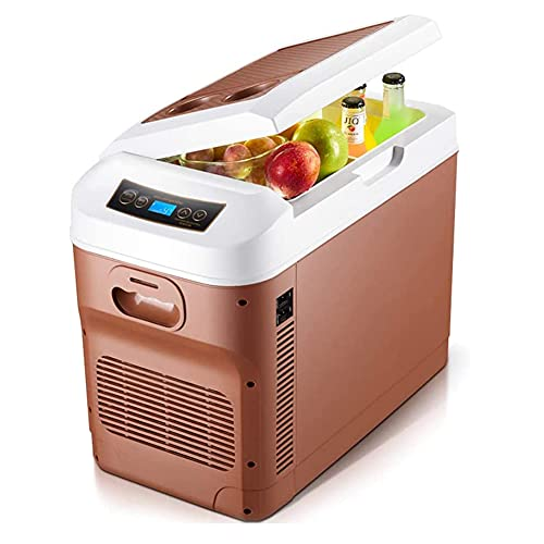SETSCZY Refrigerador De Coche con Congelador Nevera Eléctrica 12V 24V 220V-240V Refrigerador De Coche Portátil 28 litros Mini Nevera De Camping para Camión, Vehículo, RV, Barco, Viaje, Picnic