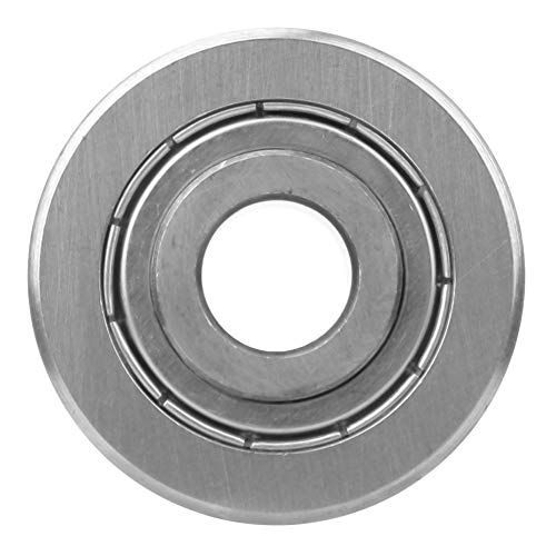 Track Guide Track Bearing, Roller Bearing, LFR5201-14 Practical 12 x 39.3 x 20mm High Carbon Chrome Bearing Steel for Spherical Raceway 0.47 X 1.55 X 0.79In(LFR5201-14 KDD)