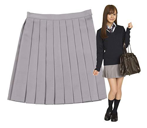 TeensEver 制服 スカート 無地 レディース L グレー