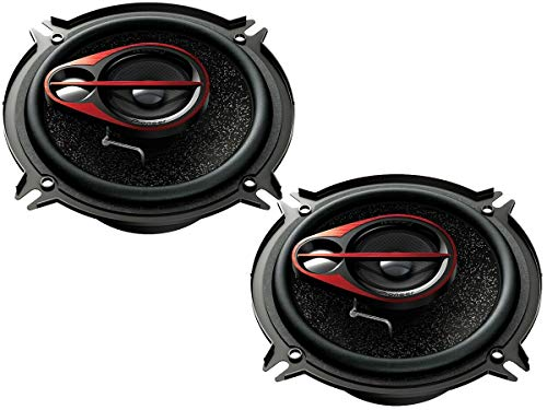 Pioneer Lautsprecher TSR1750s 500 Watt 165 mm 3 Wege Koax für FIAT Panda (169) 2003-2012 Einbauort: Türen vorne