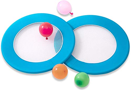 OgoDisk H20 Water Balloon Toss Disc Set - 13 Inch Disks - Outdoor Game for Pool, Beach, Parties & More - Includes 2 Bouncy Disks & 50 Water Balloons - Ages 8+