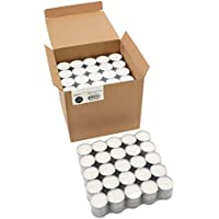 200-Count Stonebriar Burning Unscented Tea Light Candles (White)