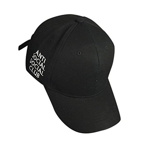 MissFox - Gorra de béisbol para hombre