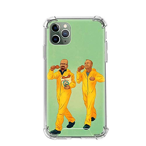 Tznzxm Heisenberg Breaking Bad Funda iPhone Airbag Anti-Fall Clear Soft Phone Cover Color_09 For Funda iPhone 6 Plus/Funda iPhone 6S Plus Cases