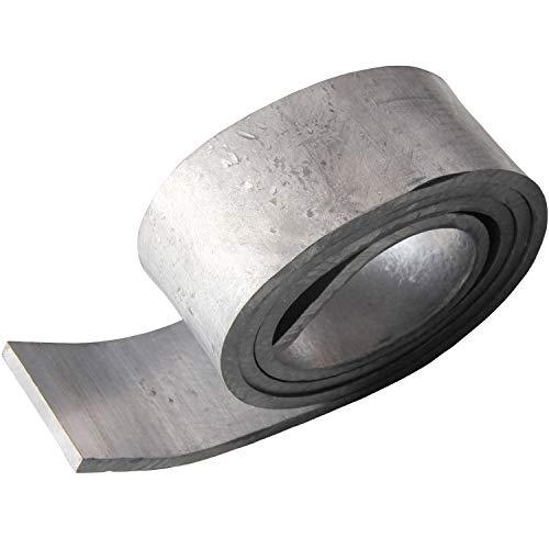 鉛シート 鉛テープ 【5mm厚】 はさみで切れて使いやすさ抜群 遮音・制振・重さ調整に Pb5mm