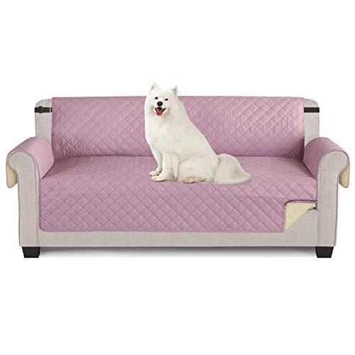 TAOCOCO - Funda de sofá impermeable para proteger los muebles en dos lados para perros y gatos, cama con sofá Slipcovers