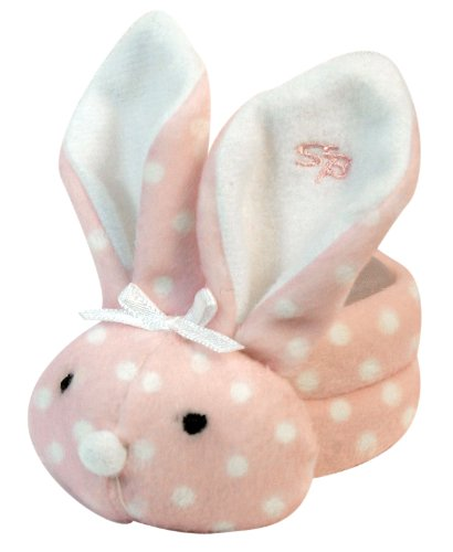 Stephan Baby Boo Bunnie Comfort Toy and Boo Cube, Baby Girl Polka Dot
