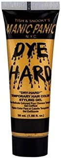 Tish & Snooky's MANIC PANIC N.Y.C. Glam Gold DYE HARD Temporary Hair Color Styling Gel by Manic Panic