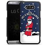 DeinDesign LG G5 Coque Étui Housse Paris Saint-Germain Produit sous Licence Officielle Noel