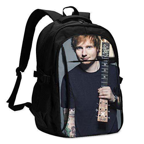vd Shvvrpn 16 inch Laptop Rucksack Großer Reisecomputerrucksack für Frauen Männer mit USB-Ladeanschluss Robuste College-Büchertasche School Bags