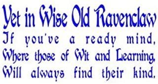 Ravenclaw vinyl decal BLUE