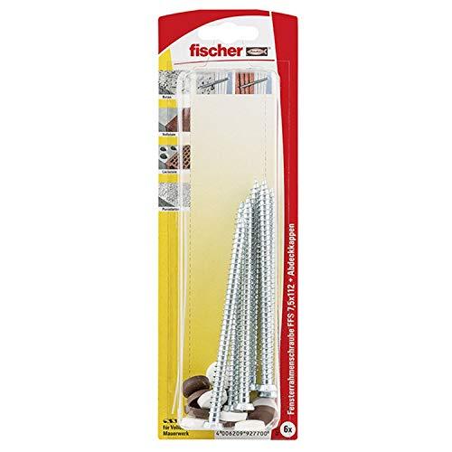 fischer 92770 Fensterrahmenschrube FFS 7,5 x 112 K SB-K