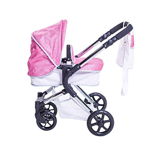 Roma Stephanie Single Dolls Pram - Sparkle 3-9 years