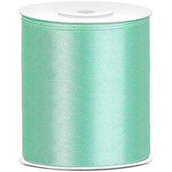 Schleifenband Geschenkband Dekoband Satinband Pastellgrün 12 mm 25 m
