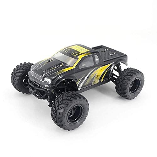 GLXLSBZ Coche de Juguete de Control Remoto Todoterreno Recargable 1/18 29 KM / 4WD Vehículo de Carreras RC de Alta Velocidad Amortiguador Independiente, 2.4G Remot Cont