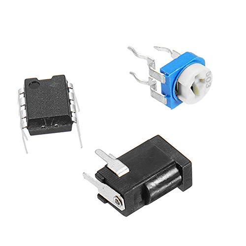 MING-MCZ Duradero 5V Luz de respiración de los Kits DIY Flash LED Kit Blue Flashing Lámpara electrónica, Establece LED 3pcs 5mm Fácil de Montar