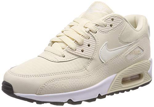 Nike Wmns Air Max 90 Damen Sneakers, Beige (LT CREAM/SAIL-BLACK 213), 42 EU