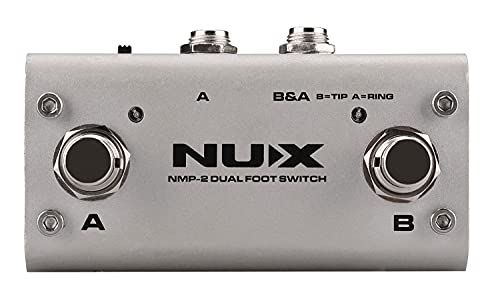 Pedalera NUX de 2 vías con LEDs - 3 modos